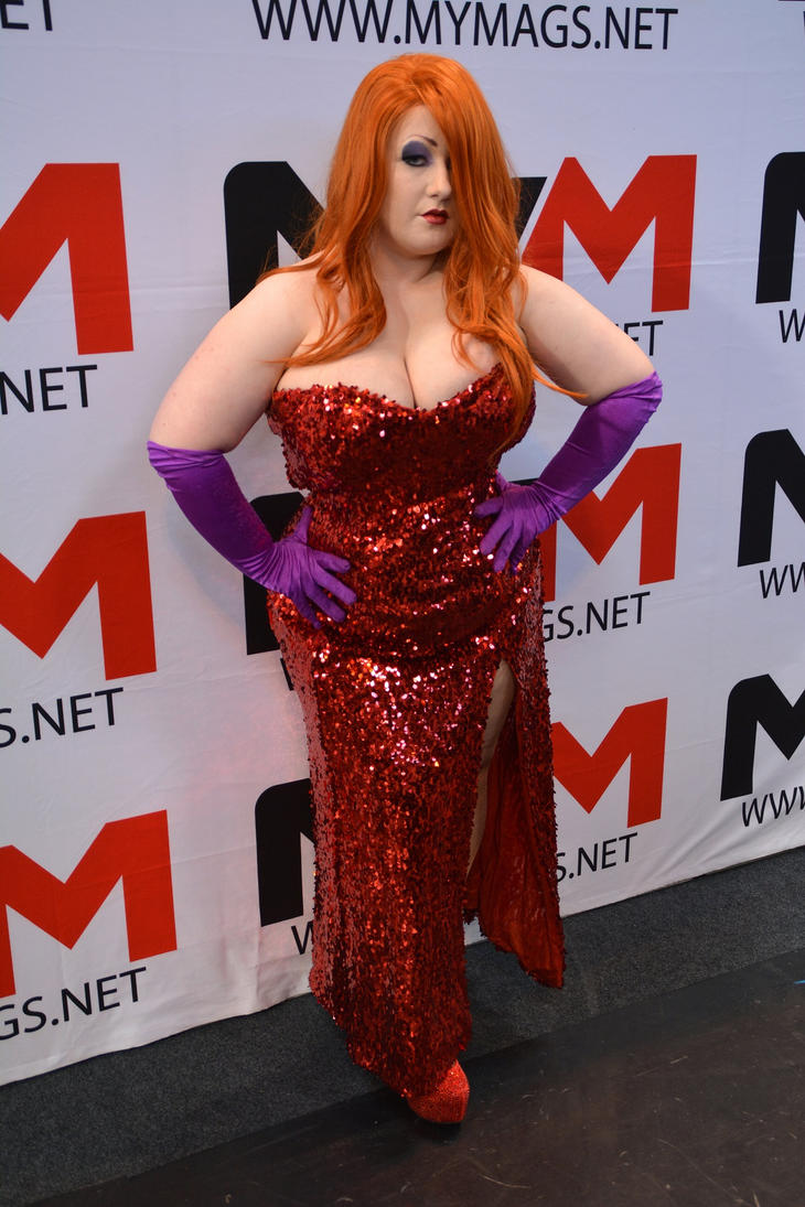 Jessica Rabbit Cosplay Birmingham Comic-Con 2014 by masimage on ...