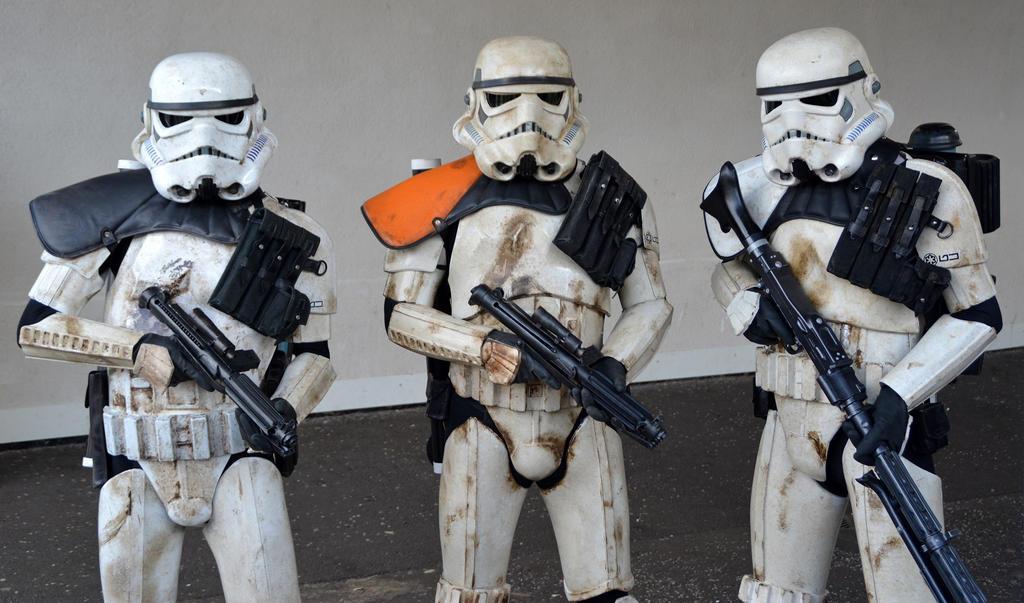 Sandtroopers by masimage