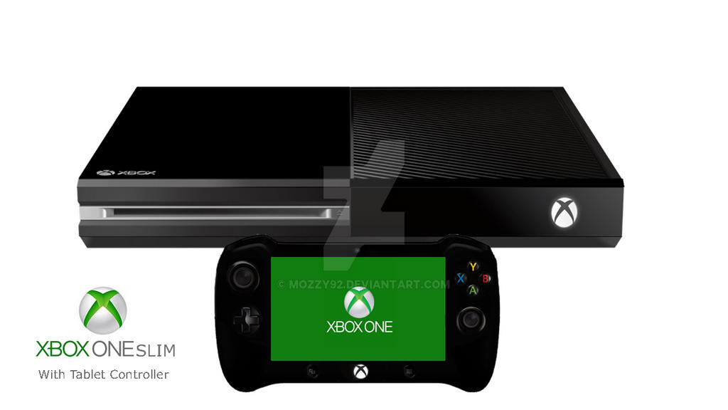 D Line Drawings Xbox One : Xbox one slim v by mozzy on deviantart