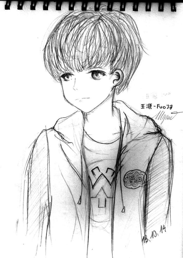 My little boy by Eritokaze
