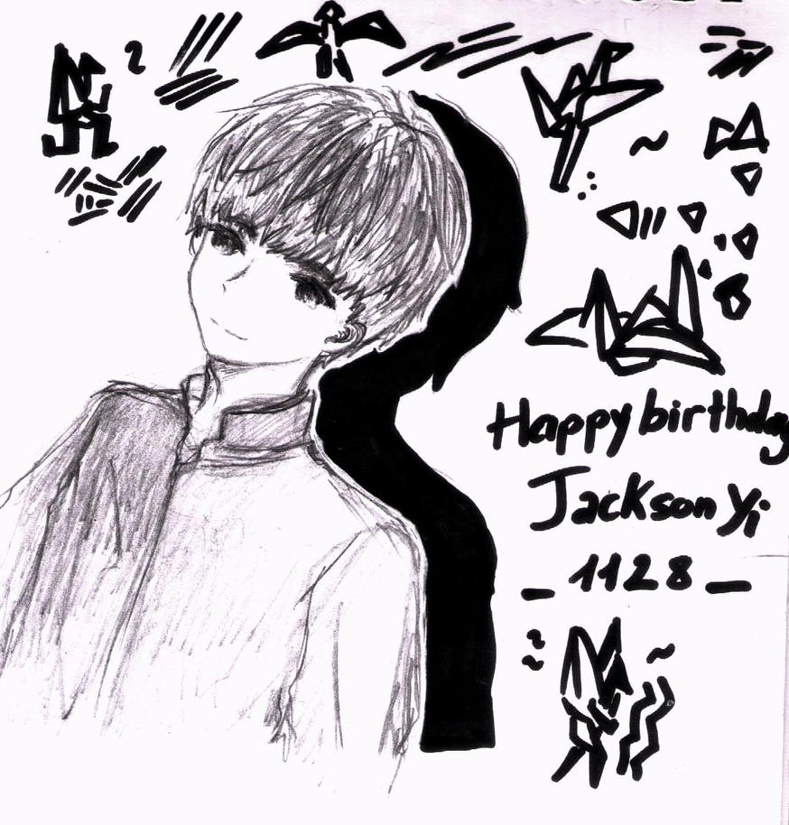 Happy Birthday Jackson Yi by Eritokaze