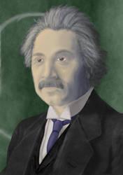 Einstein Reimagined by Jagash