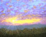 Mackerel Mountain Sunset