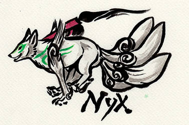 Okami badge Nyx