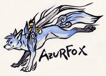 Okami Badge Azuforx