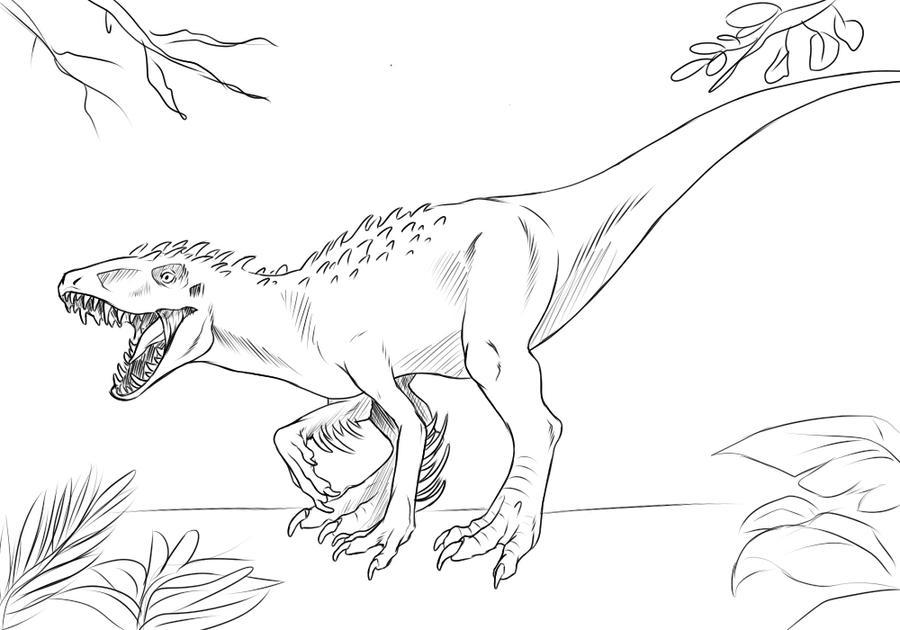 Indominus Rex by Nievaris on DeviantArt