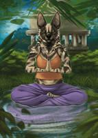 Meditating by Nievaris
