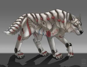 Robot Wolf