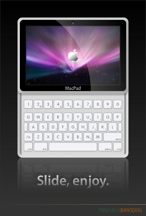 MacPad Concept - View 2 by Maverick18x