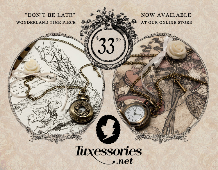 Don't Be Late: Nouveau by Tuxessories