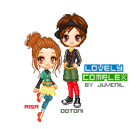lovely complex pixel by juv3nil