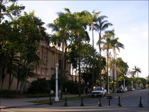 Street in San Diego