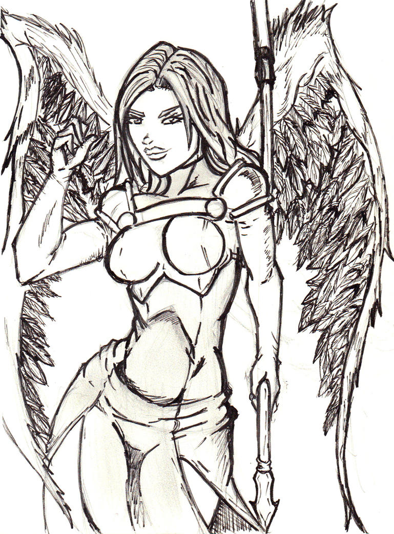 warangel from shadows of oblivion by jesusjr