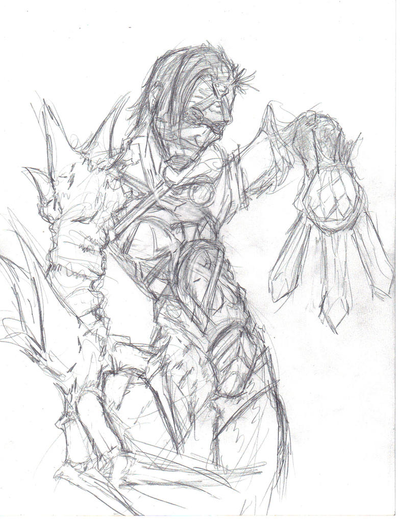 lol voldo with nightmare's arm, Ivy's costume by jesusjr