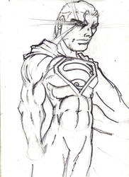 angry superman by jesusjr
