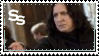 Snape Wand at the Ready Stamp by Odogoo