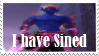I have Sined PWI Stamp by Odogoo