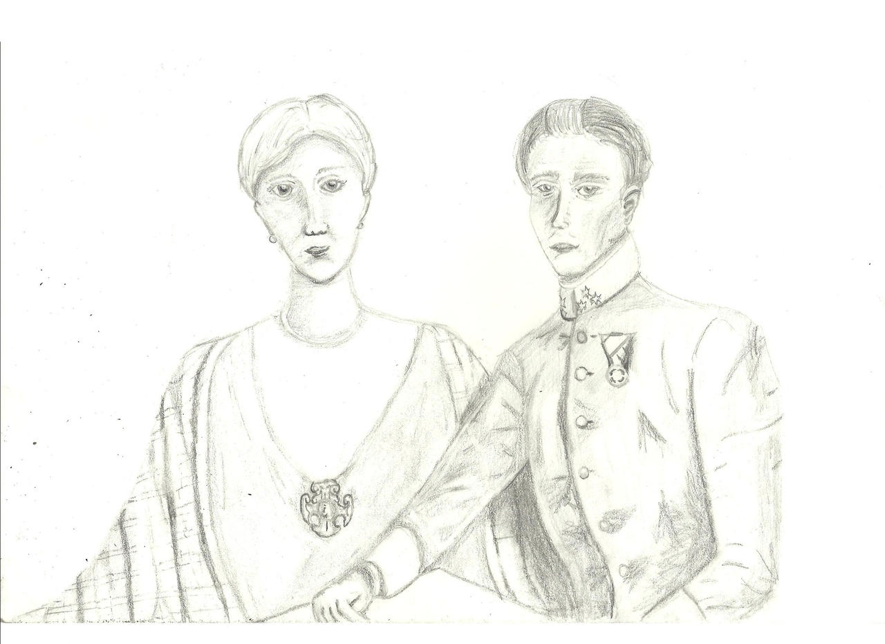 The Archduke + Duchess by bubblemoon66