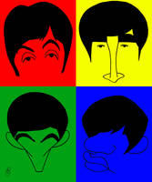 The Beatles by EspnB
