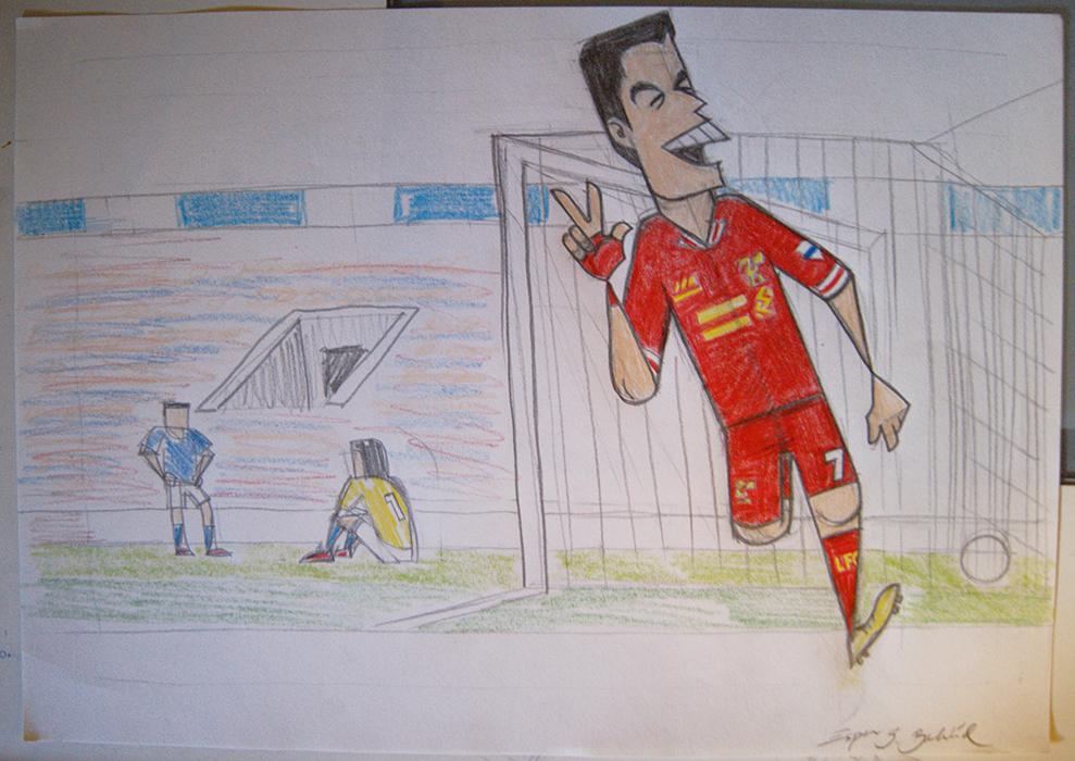 Suarez scores again by EspnB