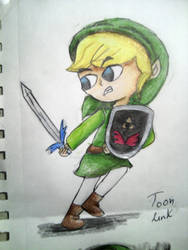 Toon Link by saralibrary