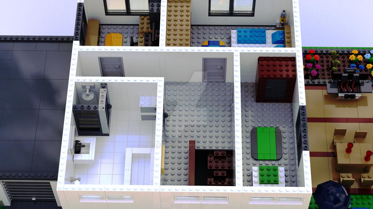 Modernes Haus 1 Etage By MembutoOmelli