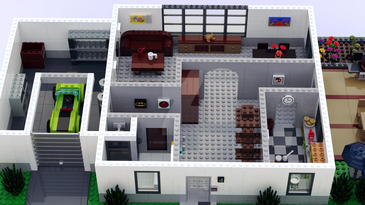 Amazing Modernes Haus Erdgeschoss By MembutoOmelli
