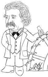 Mark Twain Chibi 2