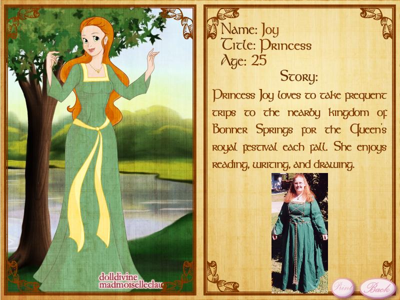 Princess Joy - for ArtJam by rjoyhelvie