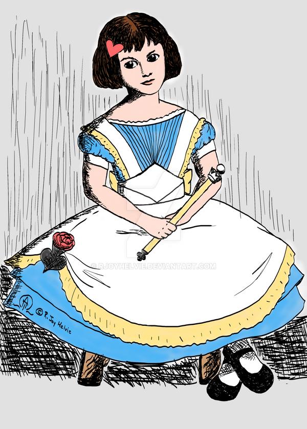 Alice Liddell Wonderland Queen by rjoyhelvie