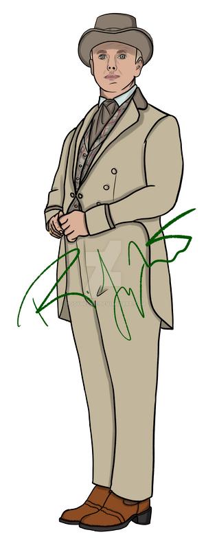 Aziraphale as Artemus Gordon