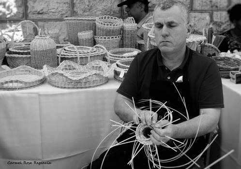 The Blind Man and his creations