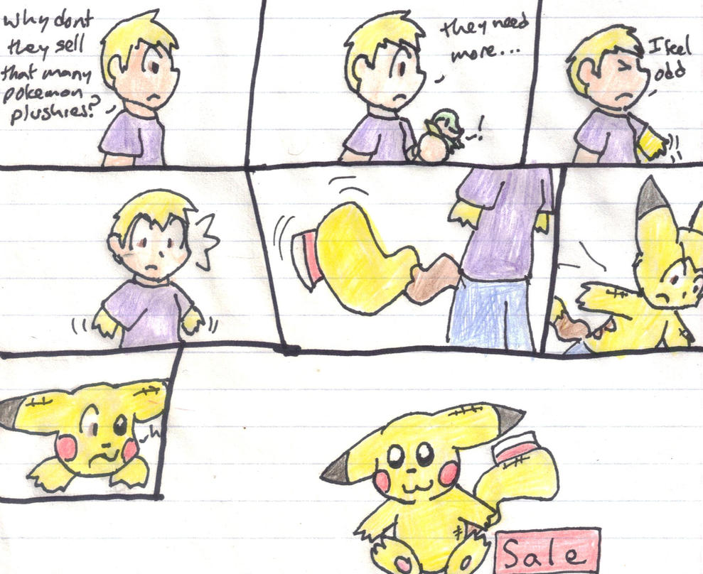 Pikachu Plush Tf by VulpineKeyblader