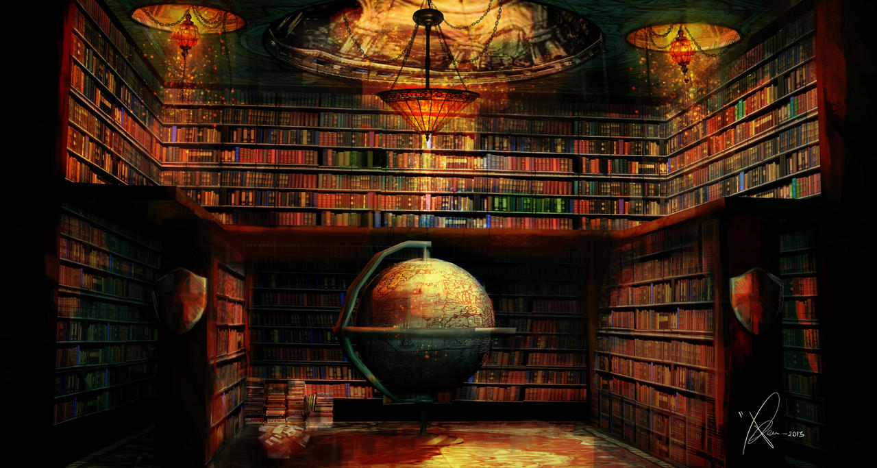 my magic library by - photo #20