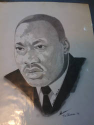 m.l.k martn luther king  by donvibes