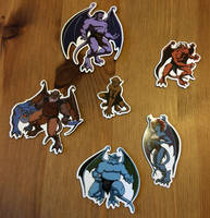 GARGOYLES Magnets Series 1 by twogargs