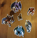 GARGOYLES Magnets Series 1