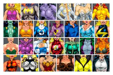 Superheroine ABC's !