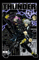 THUNDER #2 Cover- THUNDER THURSDAY Part 2 by twogargs