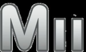 Mii Logo - Smashified