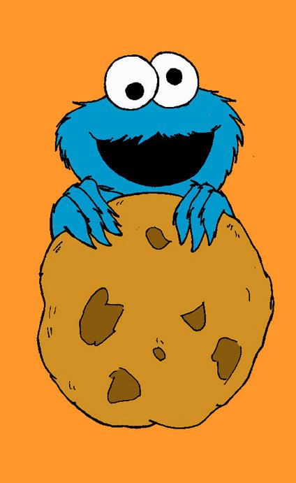 Cookie monster doodle by donner on DeviantArt