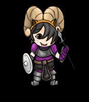 My First Chibi! Commisson Fan art - Ragnarok Onlin by LilWolfStudios