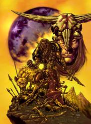 Black Barbarian by AllanOtero