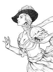 Lady by AllanOtero