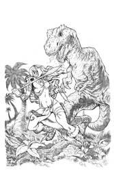 Cavewoman by AllanOtero