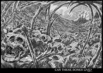 Dry Bones by AllanOtero