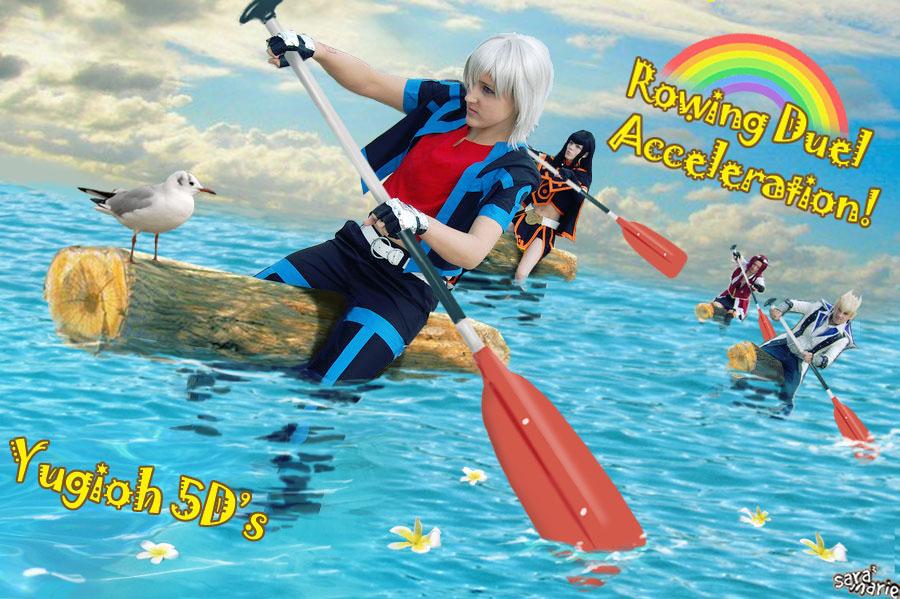 Rowing Duel by nemotomami