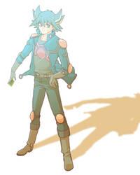 Yusei in the light