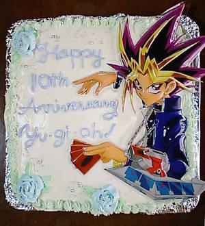 Yugioh cake
