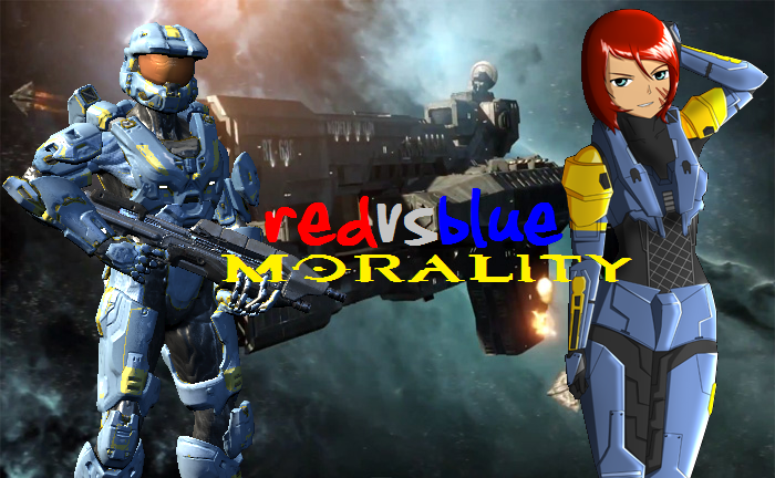 Red vs Blue: Morality by ChaoticChaosHybrid